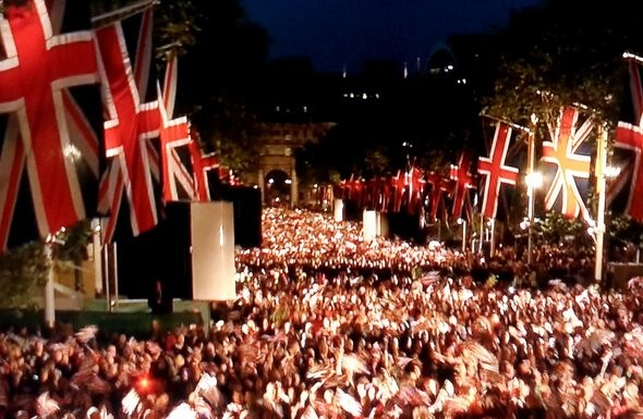 Diamond Jubilee Concert The Mall The Queen