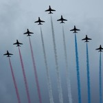 Diamond Jubilee Fly Past Buckingham Palace