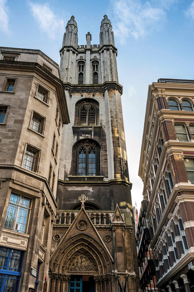 St Michael, Cornhill in the City of London