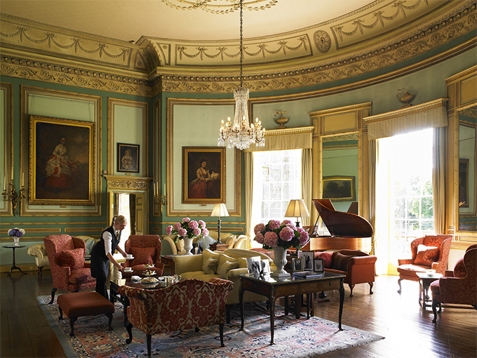 English country houses you can stay in get the downton for Period dining room ideas
