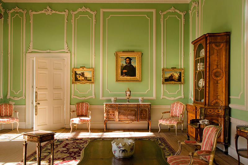 Drawing Room at Firle Place