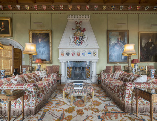 The grand drawing room, Arundel Castle, photos of Arundel Castle, interiors of Arundel castle, British castles