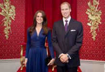 William Kate Duke and Duchess of Cambridge Wax Works Madame Tussauds