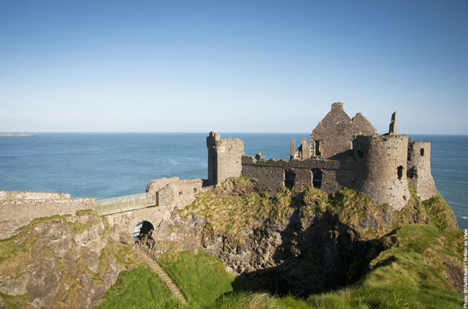 Dunluce Castle Belfast Northern Ireland