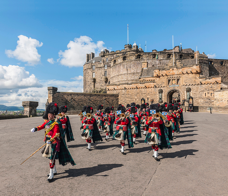 The Change of the Guard at Edinburgh Castle