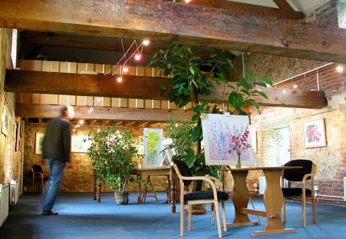 Britain's Best Garden Tearooms Malthouse Gallery