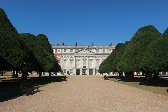 East Front of Hampton Court Palace. Credit: Historic Royal Palaces