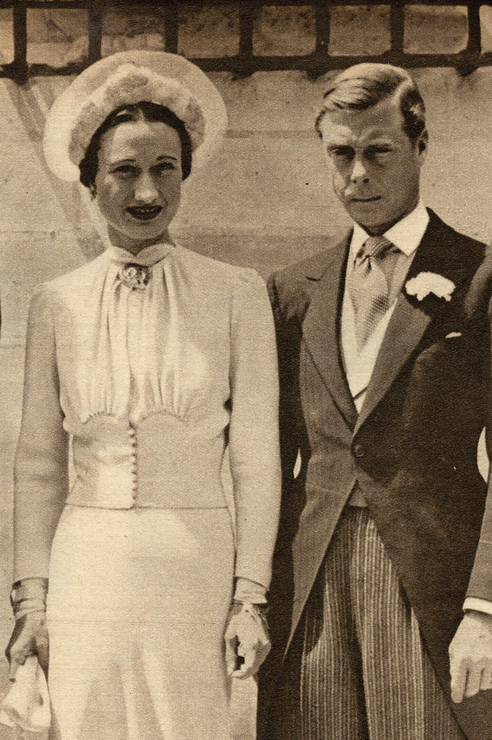 King Edward VIII with Wallis SImpson