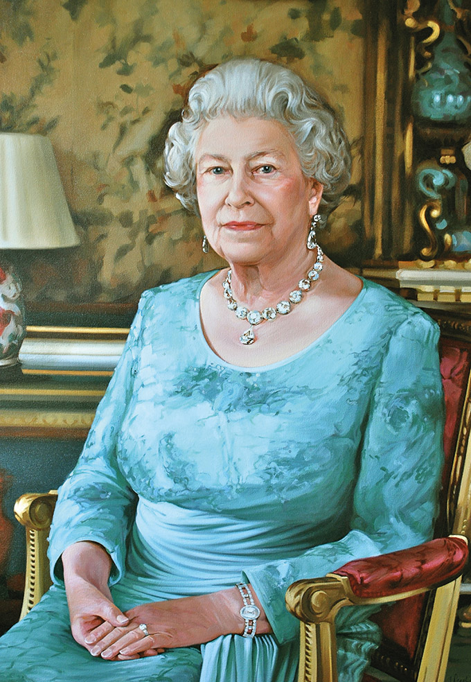 Her Majesty the Queen by Isobel Peachey