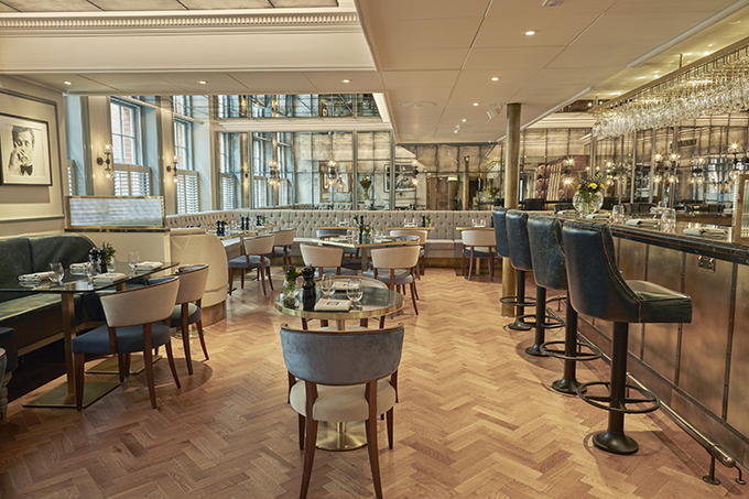 GBR in Dukes of London is an all-day brasserie ideal for shoppers in London's Piccadilly. GBR Dukes of London