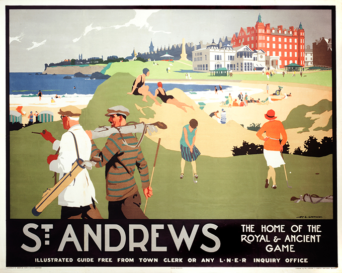 Gawthorn, St Andrews poster