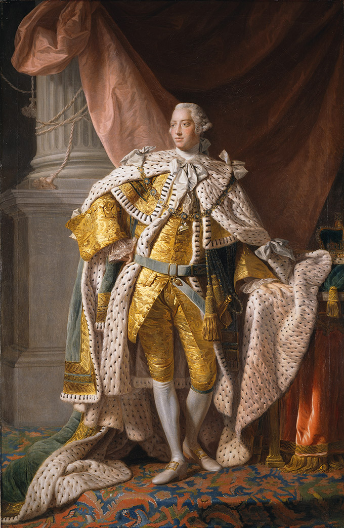 King George III (1738-1820) after Allan Ramsay by David Martin