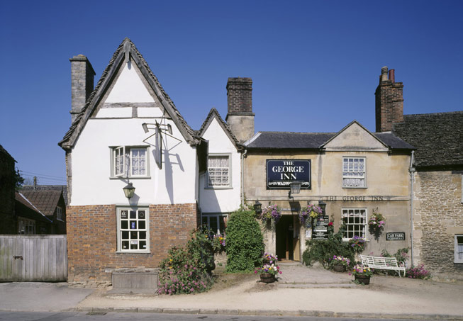 George Inn in Lacock, Wiltshire. Credit: National Trust Images/Rupert Truman
