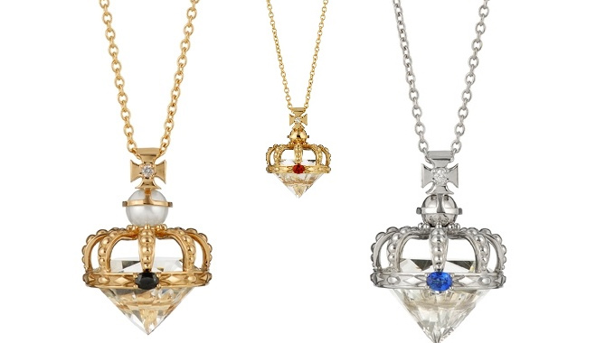 Gerrard Diamond Jubilee Pendants