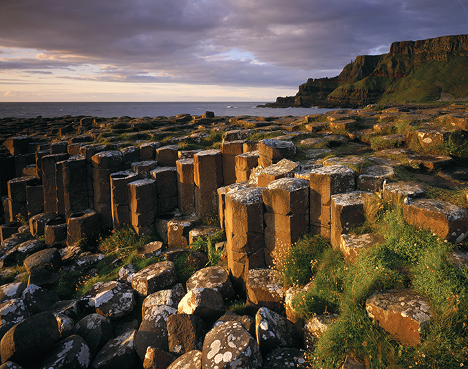View across part of the Giant's Causeway, Antrim. Credit: National Trust Images/Joe Cornish
