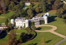 Goodwood House in West Sussex, England