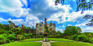Gravetye Manor, West Sussex, English country hotel, manor house