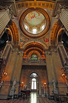 Great Hall and Dome, Castle Howard, York, Yorkshire, stately homes