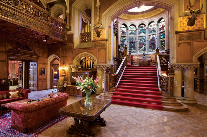 Castles you can stay in: book a room in a British castle