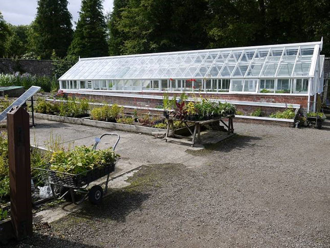 greenhouse, castle, culzean culzeancastle