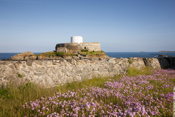 Fort Grey Rocquaine Bay Guernsey Channel Islands