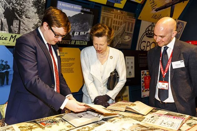 The Princess Royal tours The Postal Museum. Princess Anne opens the Postal Museum and Mail Rail