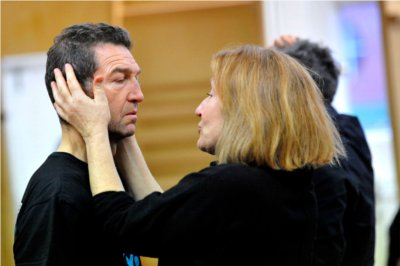 Greg Hicks plays Claudius alongside Charlotte in the upcoming RSC production of Hamlet. Photo compliments of Keith Pattison.