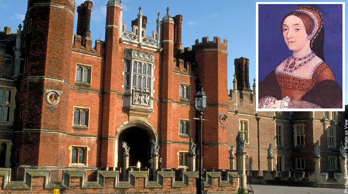 Hampton Court Palace Most Haunted Places in Britain