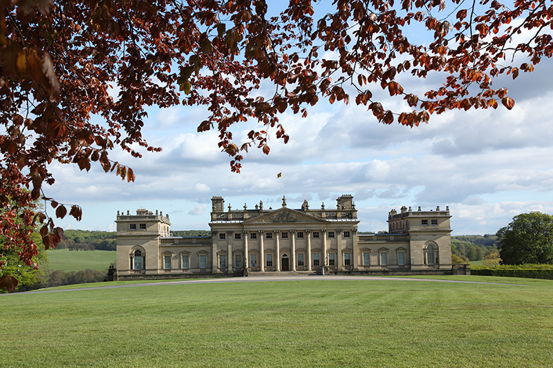 Harewood House - The North Front