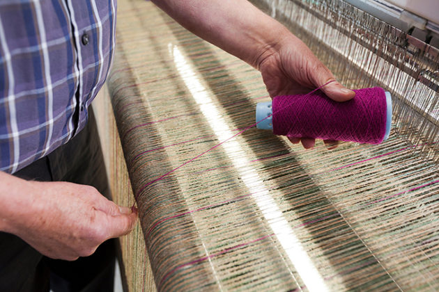 Neil Macleod, Harris tweed weaver. Beautiful photos of Lewis and Harris