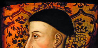 A portrait of Henry V of England