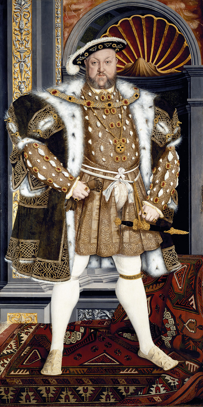 King Henry VIII (1491-1547) by the studio of Hans Holbein the younger