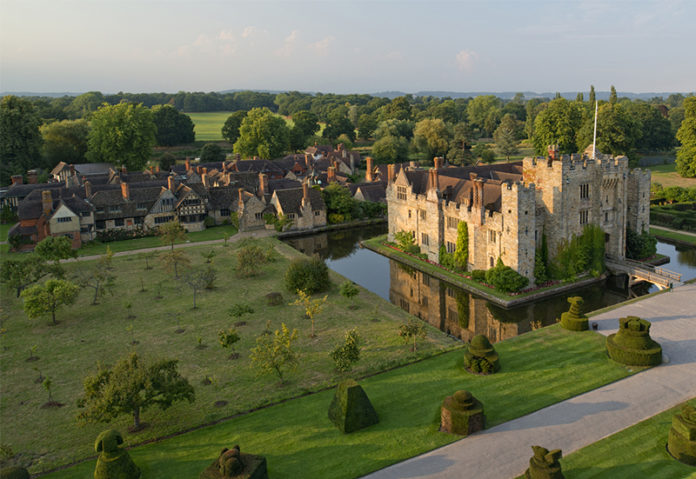 Hever Castle in Kent. Credit: Visit Britain