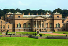 Holkham Hall, Norfolk, UK. Stately homes. Exhibitions at Holkham Hall
