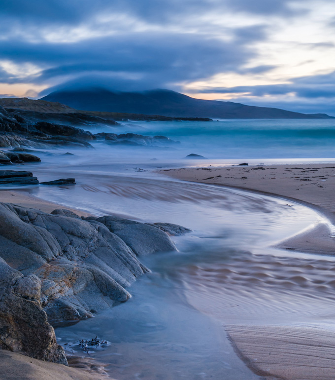 Horgabost at Dusk, Isle of Harris, Outer Hebrides, Scotland