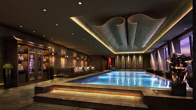 Infinity Swimming Pool - level 52 - Shangri-La Hotel At The Shard London