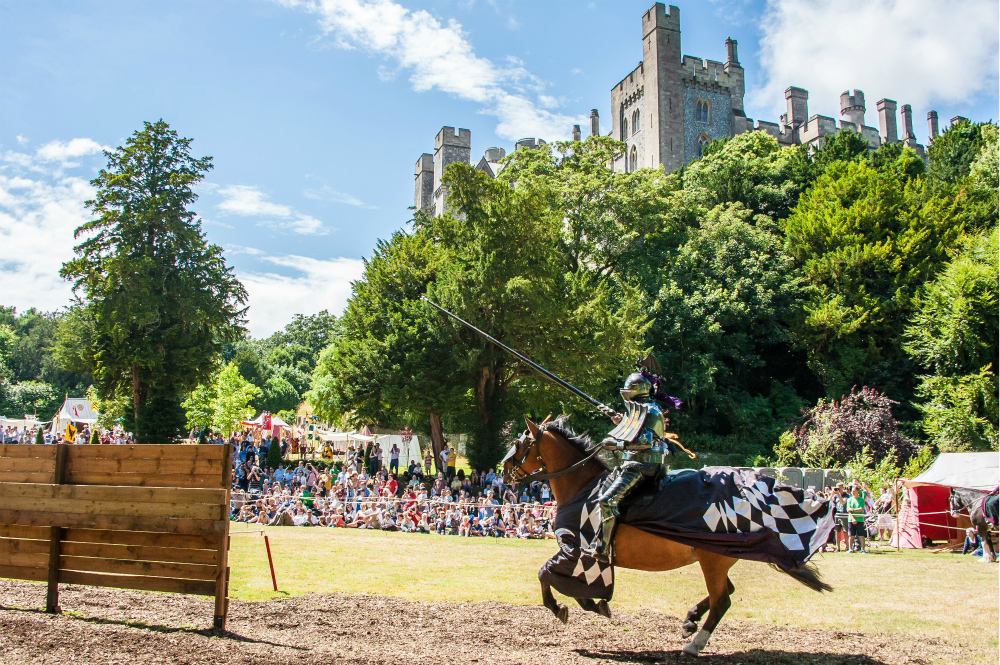 International Jousting Tournament at Arundel Castle 2013 Photo credit Julia Claxton