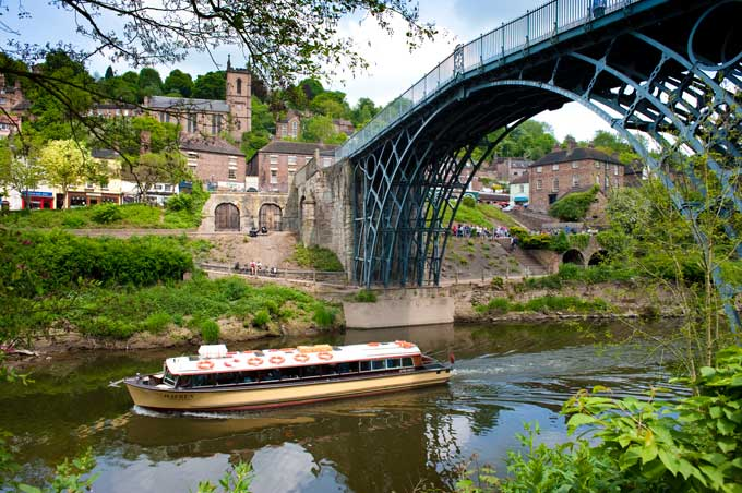 Iron Bridge Shropshire (c) Shropshire Tourism