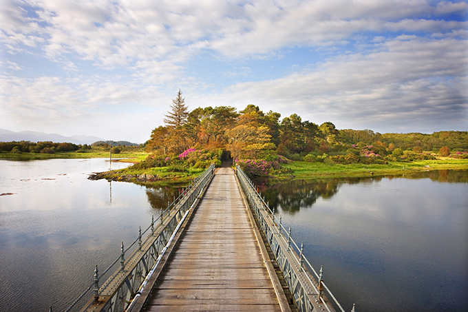 The Isle of Eriska, near Oban in Argyll, Scotland, has a golf course, spa and its own island | Best hotels in Scotland