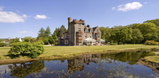 Isle of Eriska, Oban, Argyll, Scotland. Best hotels in Scotland