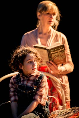 Izzy Lee (Scout) and Julie Legrand in To Kill a Mockingbird at Regent's Park Open Air Theatre. Photo: Johan Persson