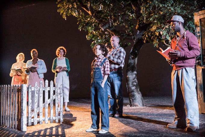 Izzy-Lee-(Scout)-and-the-company-of-To-Kill-a-Mockingbird-at-Regent's-Park-Open-Air-Theatre
