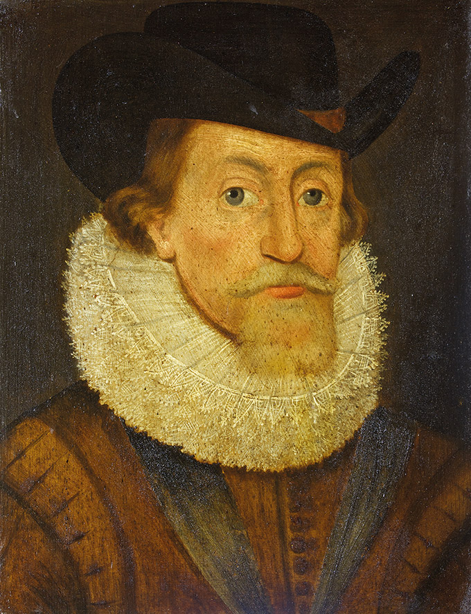 King James I (James VI of Scotland)