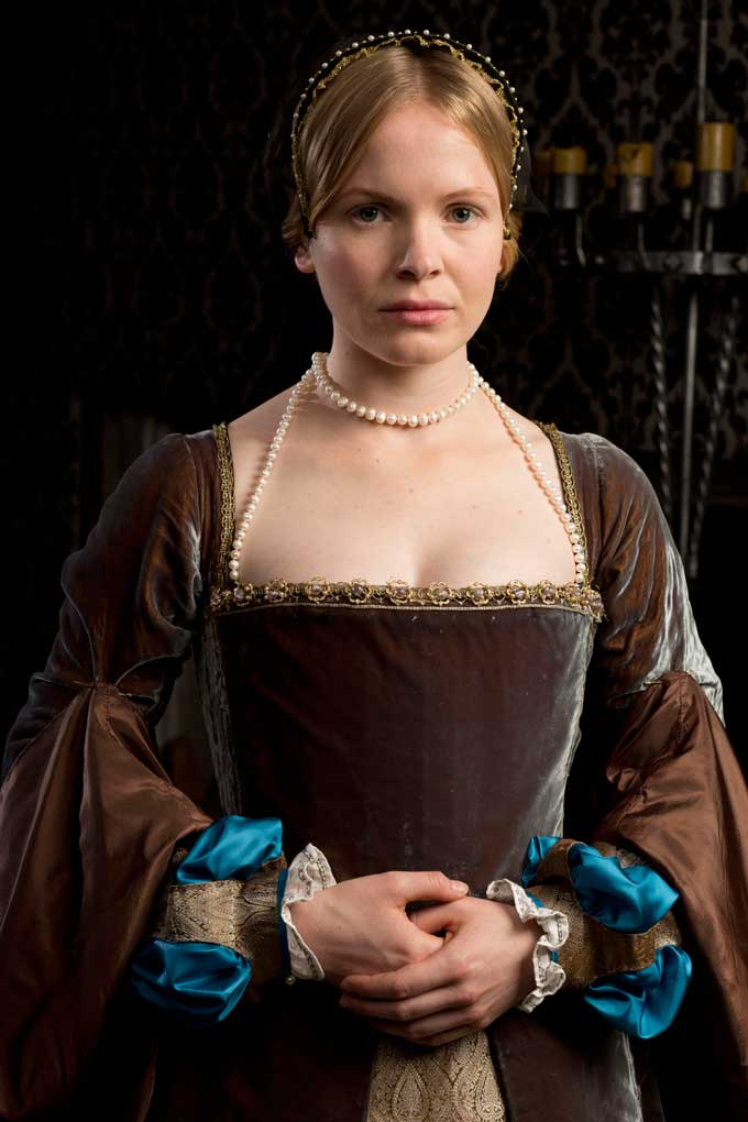 Kate Phillips as Jane Seymour in Wolf Hall
