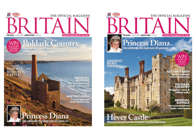 2017 July/August UK and September US cover BRITAIN Magazine