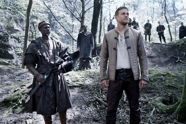 King Arthur: Legend of the Sword on location at Seven Sisters Wood, Forest of Dean, England. © 2017 Warner Bros. Entertainment, Inc. All rights reserved