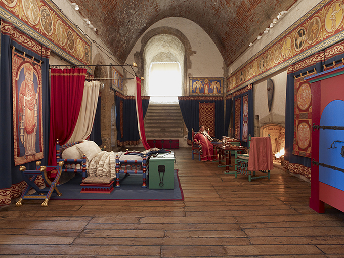King's bedroom, Dover Castle, Kent. Credit: Dover Castle. Medieval castles near London
