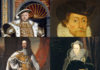 Henry VIII, James VI, William III, Mary Queen of Scots. The Kings and Queens of England and Britain