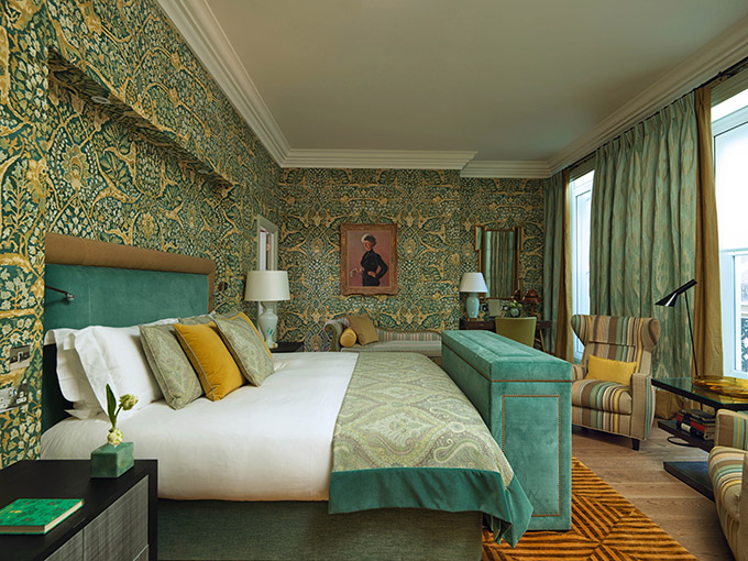 Kipling Suite, Brown's, London, five-star hotels, London hotels. Credit: Adrian Houston Limited