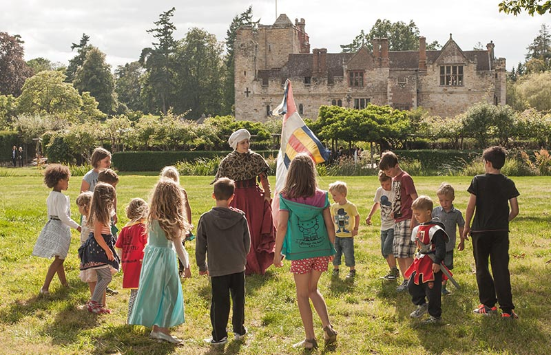 Knights and princesses in the making at Hever Castle
